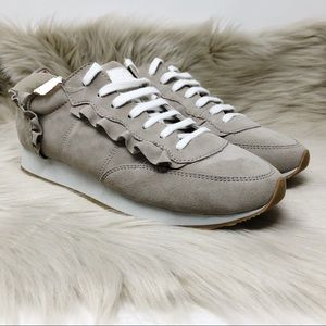 NWT Kate Spade NY Fariah Suede Leather Sneaker